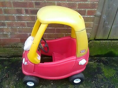 Little tikes cozy red coupe  has no key