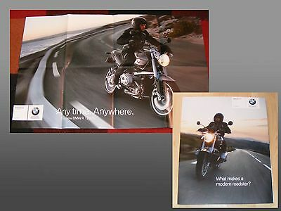 BMW R1200R Motorcycle Brochure / Poster 2006 / 2007