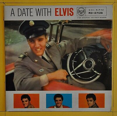 Elvis Presley  A Date With Elvis RCA Victor RD-27128  United Kingdom  1964