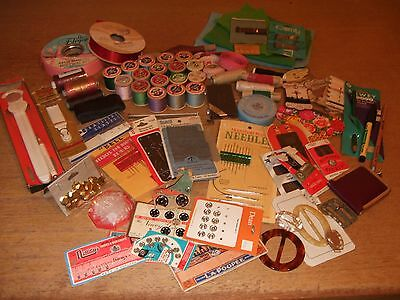 Lot Of Sewing/haberdashery Items