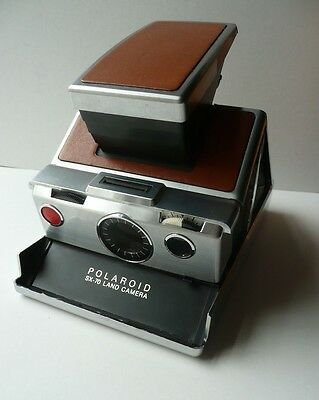 Polaroid Sx-70 Land Camera.