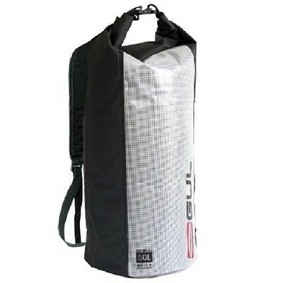 Gul Drybag 50L Carry Backpack Waterproof Water Sports With Straps 2017