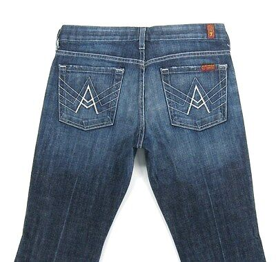 """SEVEN 7  FOR ALL MANKIND """"A"""" POCKET  Women's jeans size 28/31"""