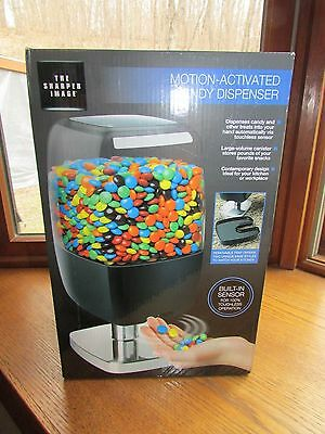 Sharper Image Motion Activated Candy Dispenser Nuts M&Ms Skittles, Etc.