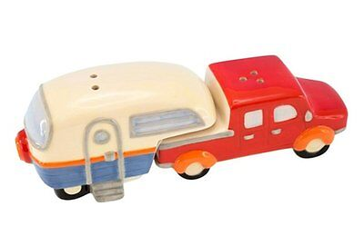 RV Salt and Pepper - Truck and Fifth Wheel Camper Trailer