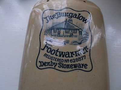 Denby Stoneware Pictorial Footwarmer, The Bungalow