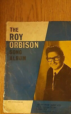 The Roy Orbison song album book