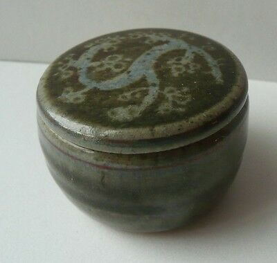 Small Pottery Ring / Pill Container.