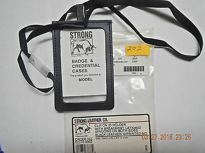 Strong Badge  & Credential Case - Top Clip-On  - 202-3