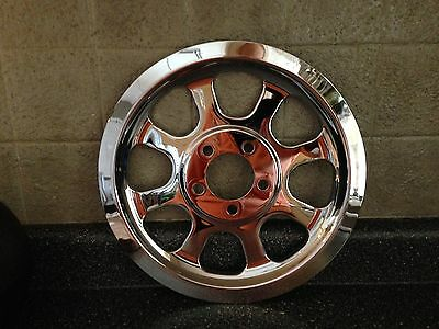 HARLEY DAVIDSON  Pulley Cover Chrome For Harley Softail 00-05