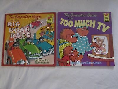 The Berenstain Bears lot of 2 paperback books