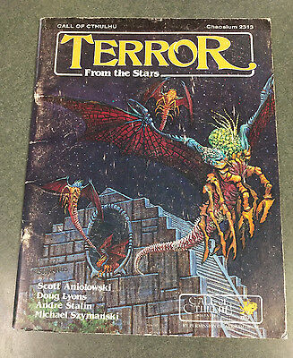 Terror from the Stars   Call of Cthulhu      Chaosium  2313