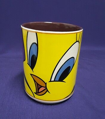 1998 Warner Brothers Looney Tunes Tweety Bird Gibson Coffee Mug