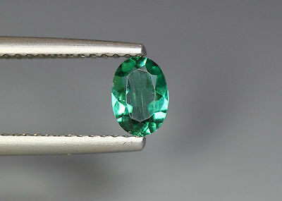 0.41 Cts_Gem Miracle Collection_100 % Natural Neon Green Apatite_Brazil