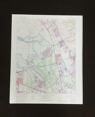 USGS- Milpitas Quadrangle- California TOPO Map