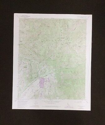 USGS- Santiago Peak Quadrangle- California TOPO Map