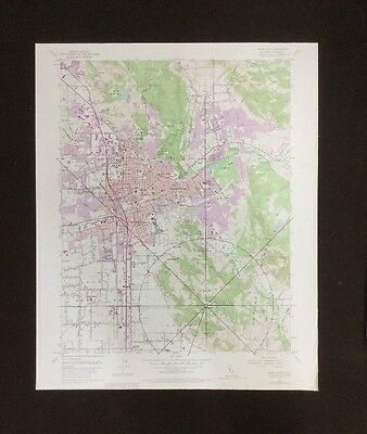 USGS- Santa Rosa Quadrangle- California TOPO Map