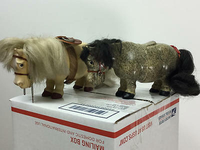 Vintage Norman Thelwell Horse/pony Plastech Toy Lot