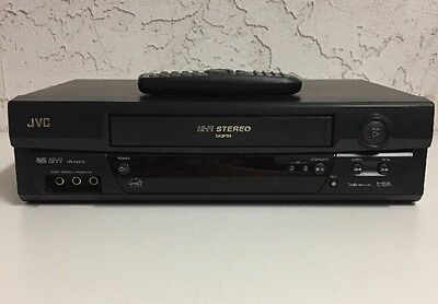 JVC HR-A591U HIFI Stereo VHS VCR Video Cassette Recorder Player with Remote