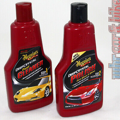 Meguiars Deep Crystal Polish Autopolitur Politur & Paint Cleaner Lackreiniger