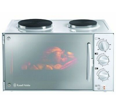 Russell Hobbs 13824-10 Mini Kitchen with Convection Oven + 2 Hot Plates - 3000w