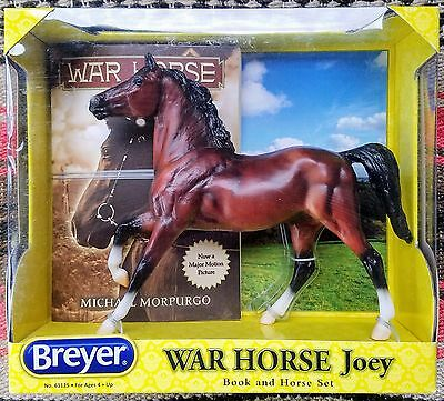 Breyer War Horse Joey Book And Horse Set New In Box #61125