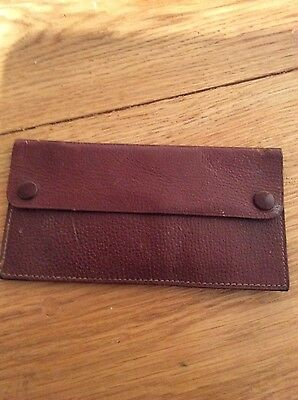 military leather vintage ammo pouch