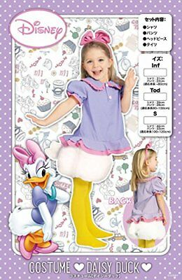 New! Disney Daisy Duck Costume Cosplay Child Tod Halloween Party from Japan