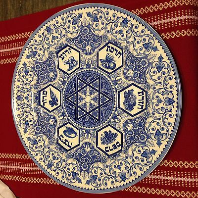 Spode The Judaica Collection PASSOVER SEDER PLATE new