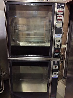 Henny Penny Double Stack Scr-8 Eelectric Commercial Rotisserie Chicken/ Beef