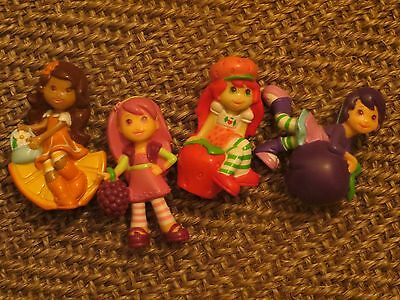 4 x Scented Plastic Doll/Figurines - from Strawberry Cupcake - Super Gift