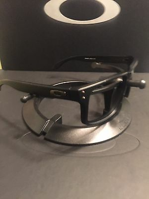 **Oakley Holbrook Matte Black Frames Gunmetal Icons Great Condition Free S/H
