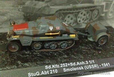 1/72 Sd.kfz.252+Sd.anh.3 Smolensk Ussr 1941 Wwii Tank Tanque Altaya