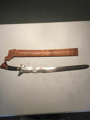 Nice Antique Original Old Java  Indonesian Keris Kris Dagger Meteorite Blade
