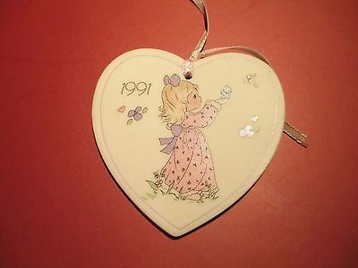Precious Moments Easter Seals Ornament. New. 2.5' Tall  2.5' Wide, 1990. Vintage