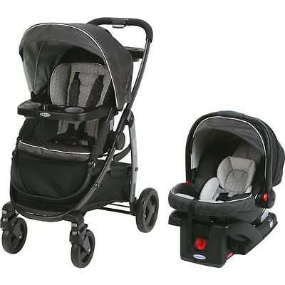 Graco Modes Click Connect Travel System, Car Seat Stroller Combo, Davis
