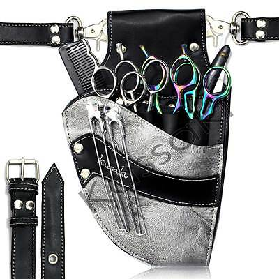 Hairdressing Scissor Pouch by Kassaki  Silver Grey Tool Belt Bag Limited Edition