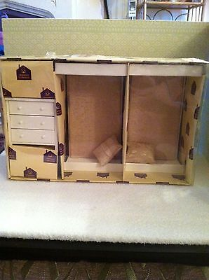 Dolls House 1:12th Scale Bedroom Set