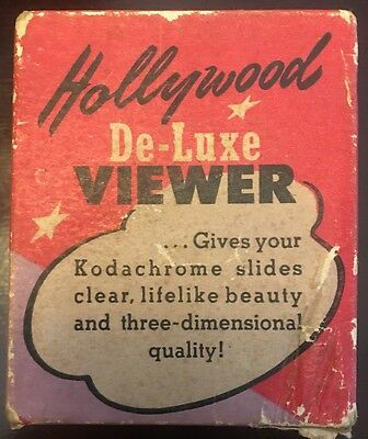 vintage Hollywood DeLuxe viewer