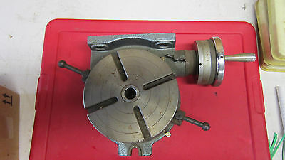 "Yuasa Manuel Rotary Table 8"" used in great condition"