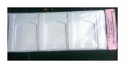 Tall Embankment Retaining walls (36.5x14.5cms UNPAINTED OO Scale 1:76 V13a