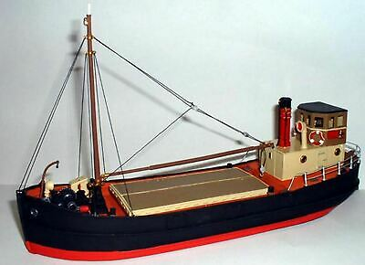 Clyde Puffer (68ft) - Waterline version UNPAINTED Model Kit OO Scale 1:76 MB1a