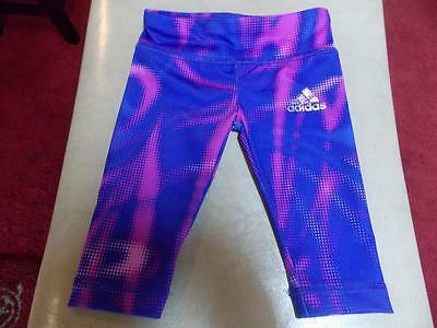 Infant Girls Adidas Leggings Sz 3 Months Euc