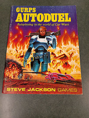 Gurps   Autoduel  Car Wars Roleplaying  1st Edition  Steve Jackson Games    1986
