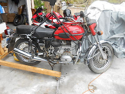 1995 Ural Solo  Rare Solo Very Low Mileage 116 miles,  Great Condition