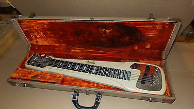 Vintage 50's/60's Fender Lapsteel With Case, 1 Owner,,Rare Find