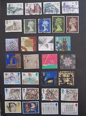 UK - Lot 1 used stamps