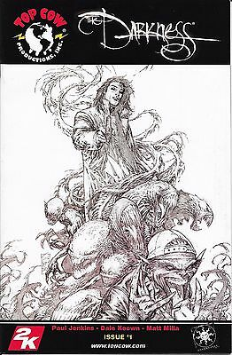 Darkness # 1 Volume 2 2006 convention exclusive Sketched cover
