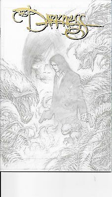Darkness #  100 Image Comic Expo Sketch Cover