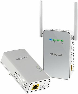 Netgear PowerLINE WiFi PLW1000-100NAS Access Point & Adapter